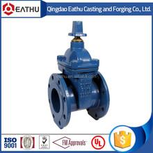 BS 5163 ductile iron non-rising stem gate valve PN10/PN16