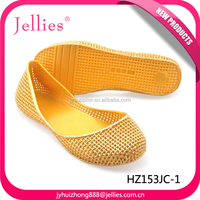 Pvc Rubber Glitter Garden Sandals Shoes For Women