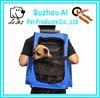 Pet Carrier Dog Cat Rolling Back Pack Travel Airline Wheel Lugage Bag Travel Carrier Backpack