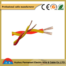 low price mica RVS 300V soft Electric Wire quality control service 2*10AWG china alibaba Twisted Cable