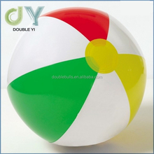 Custom China manufacturer high quality promotional gifts colorful inflatable giant beach ball branded beach ball