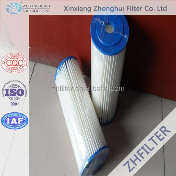 Water filter for swimming pool