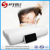 Children's memory foam music pillow
