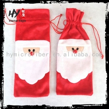 competitive price christmas wine bottle cover, christmas wine bottle holder, bottle cover