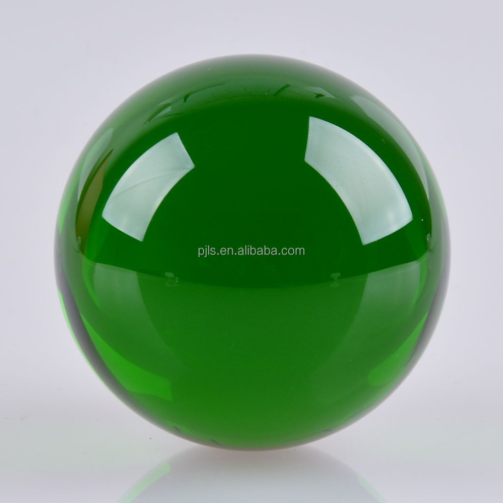 Wholesale green fengshui glass crystal ball mm cheap