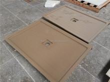 Custom acrylic brown color shower base wholesale