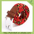 Trenzada cinturón estiramiento elástico de Aliexpress mujeres coloridas