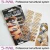 Tartan nail wraps nail sticker / nail supplies (SNF068)