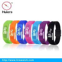 Trendy Popular Digital LED Touch Screen Sports Bracelet Wrist Watch