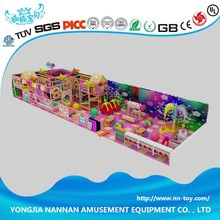New design Indoor playground kids play center equipment system structure for games