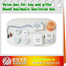 Electronic sound buzzer button for toys, doll and clothes