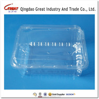 PET Blister Container Packing Strawberry Plastic Packaging Box