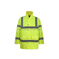high visibility jacket with reflectors ENISO 20471 :2013 norm reflective jacket
