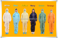 protective microporous disposable body suit