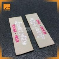 washable adhesive garment labels