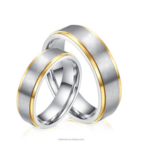 Hot Sale Wedding Ring Jewelry Luxury Brand Couples Wedding Ring For Men And Women