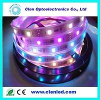 12v rgb dmx led light bar for stage waterproof ip65/67 addressable rgb led strip ws2812b /30/32 /6064/144 lpd8806 led strip