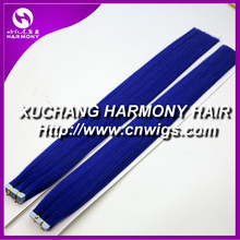 Harmonyhair Quality blue tape hair extensions