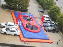 Outdoor inflatable sport court / inflatable volleyball court
