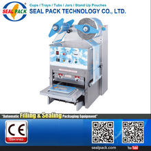 2015 Auto Filling Sealing Machine Recycled Disposable Plastic Cup