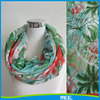 infinity printed wholesale 100% polyester scarf