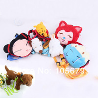 Q042 Pet traction rope cartoon Factory animal doll pet leash dog traction rope Dog Leash