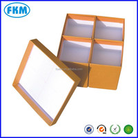 yellow gift Cardboard Packing Boxes