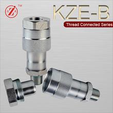 KZE-B 3/8 JIC conector rápido para gatos hidráulicos portátiles