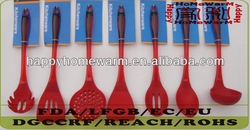 Kitchen Utensils Parts Have A Soft-Grip Handle Making Them Comfortable To Hold