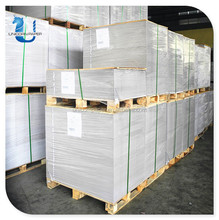 China Coated Duplex Board Paper with Grey Back Mill in Stocklot