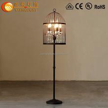 Lâmpada de assoalho de arco antigo lâmpada de assoalho de madeira lâmpada de assoalho para o