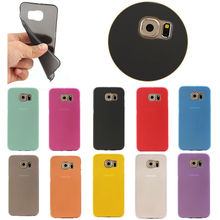 For Samsung S6 Edge Cheap Candy Phone Cover,For Galaxy S6 Edge Chromatic Soft TPU Case