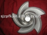stainless steel types of pump impellers
