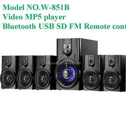 Subwoofer Speaker with USB/SD/FM/2MIC/REMOTE/LED DISPLAY