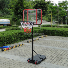hot sale movable height adjustable basketball backboard ring goal POST hoop