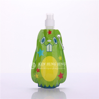 SGS Approved High Quality Liquid Bags with Carabiner Baby Food Packaging Pouch
