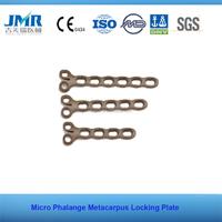 CE Marked China implant instruments Y shapedMicro Phalange Metacarpus Locking Plate lcp plate Orthopedic implant