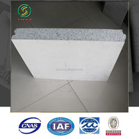 waterproof eps cement sandwich wall panel for cleanroom