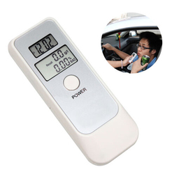 Portable LCD Digital Alcohol Breathalyzer Breath Tester Analyzer
