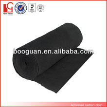 Rollo de tela de fibra de carbono negro
