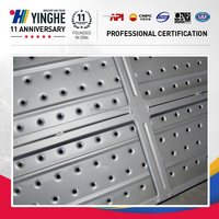 China exporter scaffolding steel plank with hooks for high-rise buildings and bridge