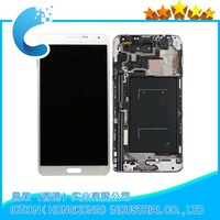 Smartphone Spare Parts for Samsung Galaxy Note 3 N900a N900t N900p N900r4 LCD+Digitizer Assembly