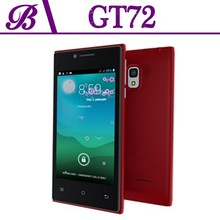 Red fashion color unlocked china phones, no brand smart phone, 512mb ram android cell phone