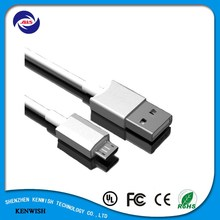 High quality fast charging micro usb cable usb data cable for mobile phone and tablet
