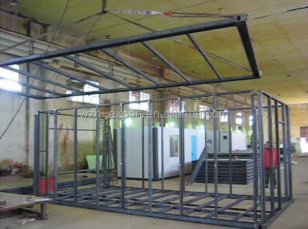 Solution de la maison moderne duba modulaire maison for Maison moderne prefabriquee