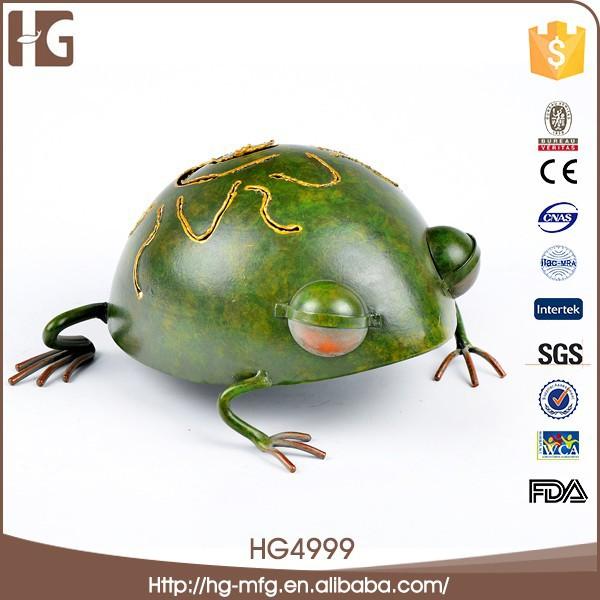 Superior de la venta belleza y la moda del arte del hierro salto de rana
