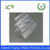Resealable self sealing transparent customized clear PE/ OPP plastic staw bag.