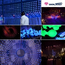 Latest cheap color changing 3d led cube