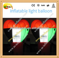 Colorful inflatable light balloon with ce