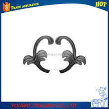 new product exquisite wedding silk wrought iron flowers and leaves
